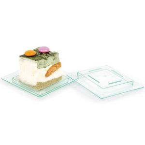 PP/PS Plastic Disk Disposable Saucer Mini Quare Dish pictures & photos
