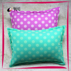 DOT Printed Travel Bed Body Polyester Filled Adult Pillow