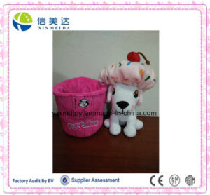 Lovely Custom Plush Cake Dog Toy pictures & photos