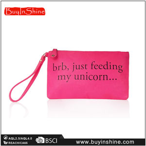 Promotional Custom Printing PU Makeup Bag