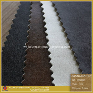 PU Furniture Car Seat Leather (SF010) pictures & photos