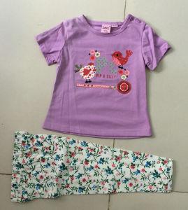 Summer Baby Girl Pyjamas Children′s Suit in Kids Wear Bb-401