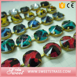 New Style Acrylic Rhinestone Chain, Resin Rhinestone Trimmings for Dresses pictures & photos