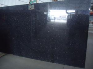 Cheap Black Galaxy Granite Slab/Tile pictures & photos