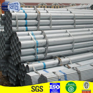 Hot dipped galvanized round steel pipe pictures & photos