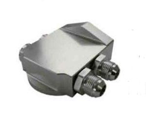 Aluminium Billet Remote Oil Filter Housing