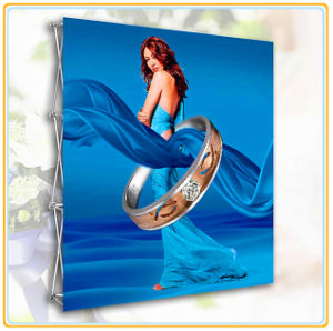 12ft Straight Pop-up Fabric-Tension Back Wall Display with Printing Graphic pictures & photos