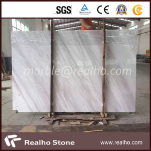 Good Price Volakas White Marble Slab for Wall/Bathroom/Floor pictures & photos