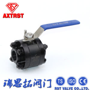 3PC Forged Steel A105 Floating Ball Valve in Good Price pictures & photos