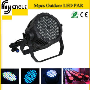 Professional 54*3W RGBW LED PAR for Stage Disco Lighting pictures & photos