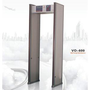 6 Zone Walk Through Metal Detector Vo-600 pictures & photos