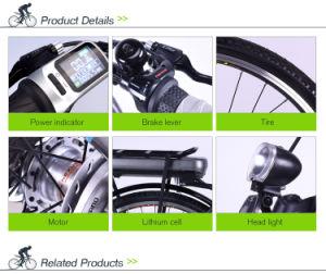 Fashion Li-ion Battery Electric City Bike pictures & photos