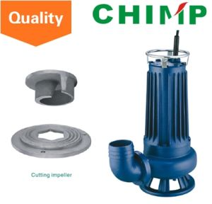 Wq (D) 1.1kw Cutting Impeller Sewage Electric Submersible Water Pump (WQD15-9-1.1QG) pictures & photos