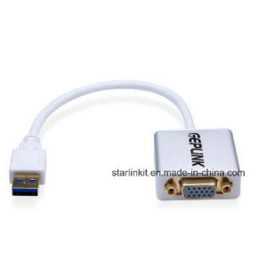 USB 3.0 to Female VGA Video Adapter for External Display pictures & photos