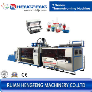 Automatic Thermoforming Machine for Making Cup with Plastic (HFTF-70T) pictures & photos