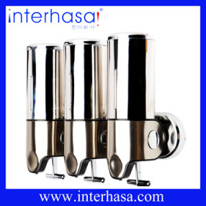 Bathroom Colorful ABS and Stailess Steel Free Soap Chrome Dispenser pictures & photos