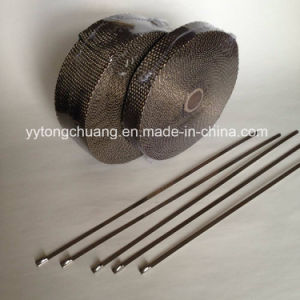Universal Thermal Titanium Exhaust Header Heat Wrap pictures & photos