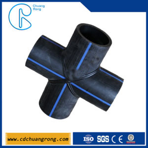 Offer PE Gas Pipline Fittings (cross) pictures & photos