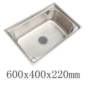 New Design Stainless Steel Singel Bowl Forming Kitchen Sink (YX6040)
