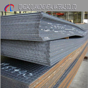 Hot Rolled Iron Carbon Ms Chequered Steel Plate pictures & photos