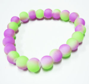 Change Color Frosted Glass Beads pictures & photos