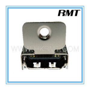 HDMI 19p a Type Female with Locking DIP Connector (RMT-160325-028) pictures & photos