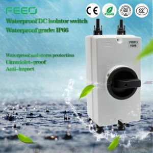 Hot Sale Enclosed Rotary 3p 16A 600V Solar Isolator Switch pictures & photos