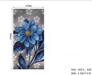 Mosaico De Vidrio Spain Mosaic Flower Hand-Cutting Tiles pictures & photos