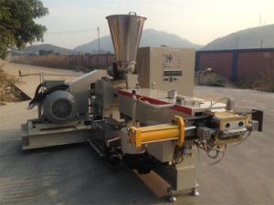 PE PP Pet Granule Making Twin Screw Extruder with Excellent Quality pictures & photos