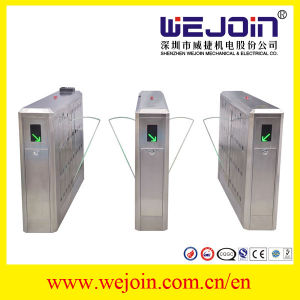 Security Flap Gate Barrier with Intelligent Management Speed Gate for Pedestrian Access pictures & photos