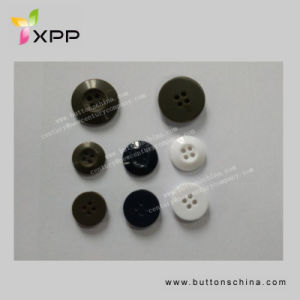 4h 14mm 15mm 20mm Plastic Resin Button for Shirt pictures & photos