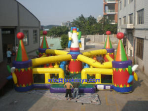 Commercial Enclosed Inflatable Trampolines for Sale (B043) pictures & photos