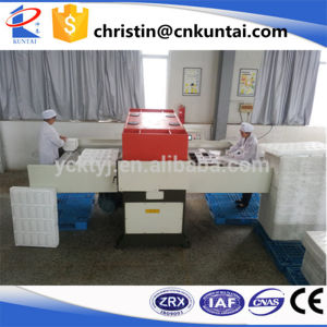 Hydraulic Double Side Feeding Foam Cutting Press