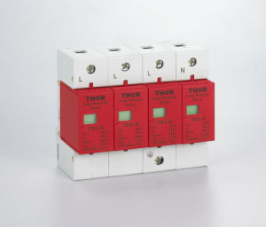 Surge Protection Device 4p, 40ka Surge Protector pictures & photos
