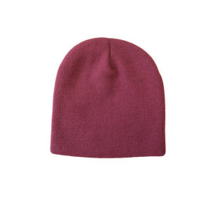 Small Order Blank Knit Beanie Hat pictures & photos