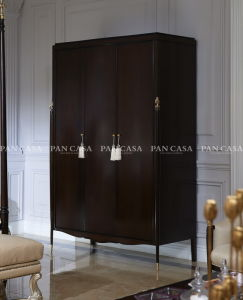 High Quality Classical Wooden Furniture Bedroom Wardrobe (MS-A6008A)