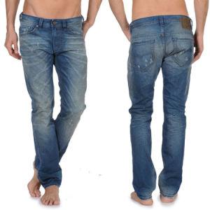 High Quality 100%Cotton Men′s Fashion Jeans Pants pictures & photos