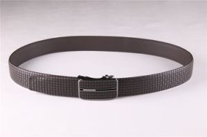Factory Customized Embossing Genuine Leather Belt for Men