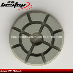 4 Inch 10mm Thick Concrete Floor Dry Polishing Pads pictures & photos