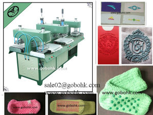 Factory Price Silicone 3D Logo Dotting Machine pictures & photos
