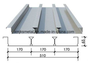 Galvanized Steel Decking Sheets for Concreting pictures & photos