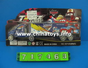 Pull Back Plastic Container Truck Toys (717463) pictures & photos