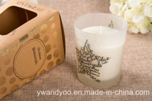 Scented Soy Candle in Glass with High Quality Box