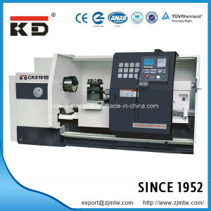 High Quality Big Bore Flat Bed CNC Lathe Ck62110b/3000 pictures & photos
