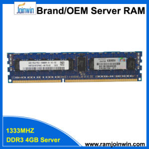 Registered Single Rank*4 PC3-10600r DDR3 4GB RAM for Server pictures & photos