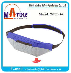 Best Sale Inflatable Manual Belt Life Jacket pictures & photos