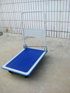 pH150 Four Wheels Foldable Hand Trolley/Platform Hand Truck pictures & photos