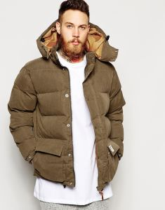 Latest Design Men′s Hoody Fashion Down Padded Jacket pictures & photos