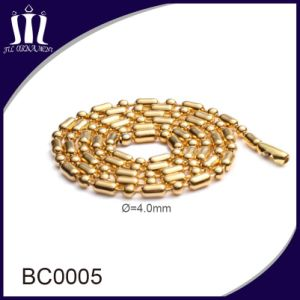 Various Color Metal Stainless Steel Ball Bead Chains pictures & photos