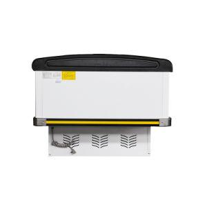 528L Showcase Display Sliding Door Island Freezer for Supermarket pictures & photos